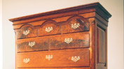 Mahogany drawer chest