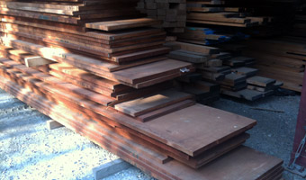 board stacks of Genuine Mahogany