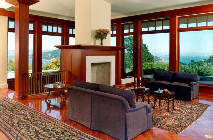 Genuine Mahogany windows and trim