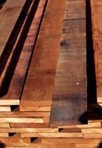 Fiji Mahogany boards