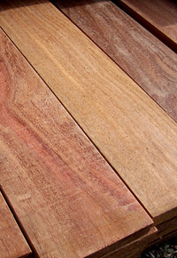 Cumaru wood boards