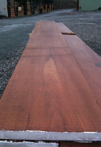 wide Spanish Cedar board